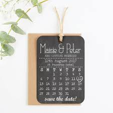 save the date in save the date cards chalkboard calendar by norma dorothy