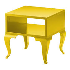 Yellow Side Table Ikea Object To My Office Woodworking Projects Pinterest