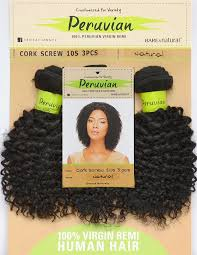 corkscrew hair sensationnel bare peruvian 100 remi weave cork