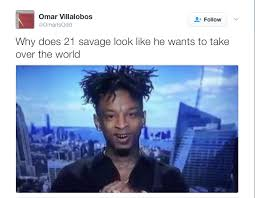 Pics Meme - issa meme this 21 savage pic is getting clowned to death bossip