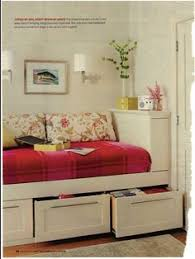 Daybed With Drawers Give Your Guest Room A More Casual Look With A Platform Bed