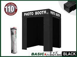 eurmax flat 5x5 photo booth tent