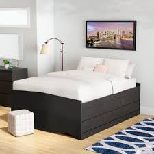 Bed Frame Drawers Storage Beds You Ll Wayfair