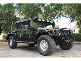 original hummer classic hummer h1 for sale on classiccars com