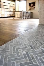 Brick Floor Kitchen by Best 25 Transition Flooring Ideas On Pinterest Dark Tile Floors