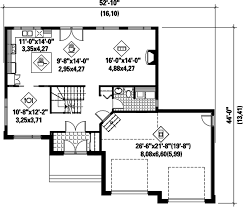 contemporary style house plan 4 beds 2 00 baths 2145 sq ft plan