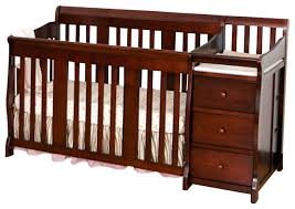 4 In 1 Crib With Changing Table Storkcraft Portofino Crib Changer Combo In White Baby Crib