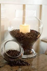coffee bean candle burn a vanilla candle in coffee beans for a heavenly smelling room