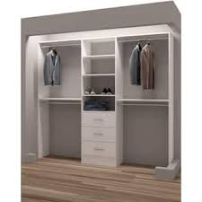 wood closet organizers u0026 systems shop the best deals for dec