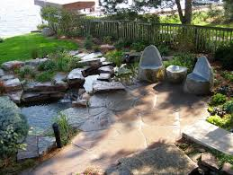 Rock Patio Designs by Cute Natural Stone Patio Ideas In Interior Design Ideas For Home