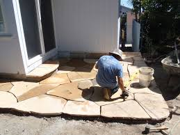 Building Flagstone Patio Flagstone Wilson Environmental Contracting