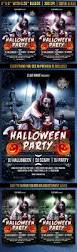 scary halloween party flyer by gugulanul graphicriver