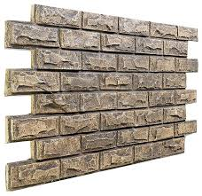 faux stone siding home hardware fake brick paneling home depot