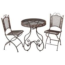 Wicker Bistro Table And Chairs Patio Furniture Bistro Set Patio Furniture Conversation Sets