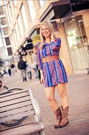 a shirt dress u0026 cowboy boots u2014 atlanta fashion blogger edit by