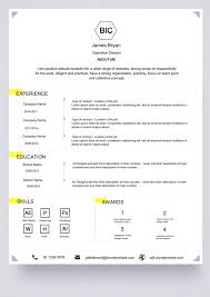 Simple Sample Of Resume Format by Basic Resume Template Free Download Edit Create Fill And Print