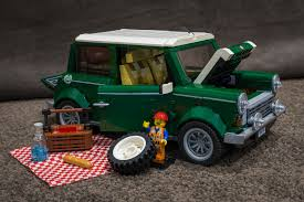 lego mini cooper interior lego mini cooper and vw camper van flickr