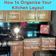how to plan cabinets in kitchen how to organize your kitchen layout organized 31