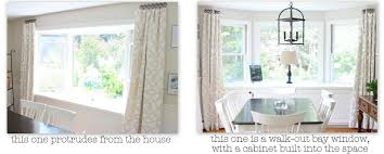 3 Panel Window Curtains Inspirations For Bay Window Dressing Shine Your Light