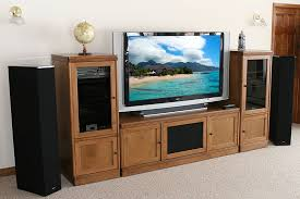 tv stands audio cabinets theater tech system four wall unit tt 400 tv stand and 2 tt 200