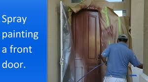 Paint A Front Door by Door Spray U0026 Spray Painting Door Knobs A Quick And Easy Update