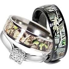camo wedding rings his and hers camo wedding ring sets interesting camo wedding ring sets