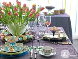 Easter Restaurant Decorations by Easter Table Settings U0026 Decor Ideas Art Of Imaginationart Of