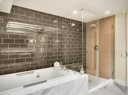 Bathroom Tile Ideas 2014 Bathroom Interior Grey Glass Subway Tile Interior Design City
