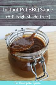 instant pot bbq sauce nightshade free aip the emancipated