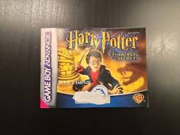 harry potter et la chambre des secrets gba notice harry potter et la chambre des secrets gba boy advance