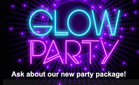 glow party birthdays sportime usa