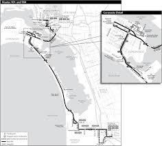San Diego Public Transportation Map by Route 901 Timetables