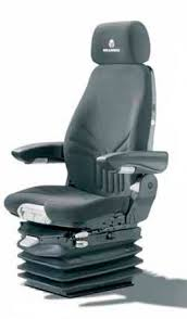 siege grammer seat with suspension for construction equipment actimo xl