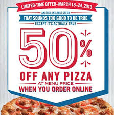 jobs at domino s pizza 50 off online order 50 off dominos coupon code free coupons 4 you