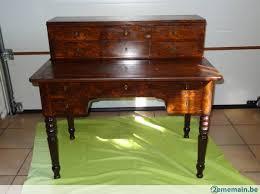 bureau en acajou meuble ancien secrétaire bureau acajou a vendre 2ememain be