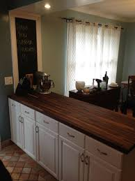 decorating fantastic walnut butcher block furnishing kitchen