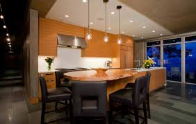 kitchen island breakfast bar pender harbour house in pender