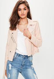 white leather motorcycle jacket women u0027s coats u0026 jackets online missguided