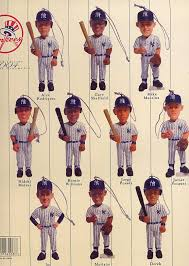 new york yankees limited edition 2004 miniature ornaments new