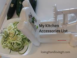 kitchen accessories list must have healthy kitchen tools