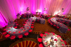Indian Wedding Hall Decoration Ideas The Reception Venue For The Indian Wedding Reception Pink