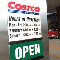 costco gasoline gas station in woodland