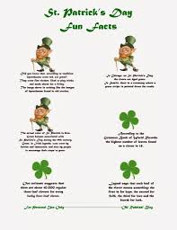 st patrick day trivia facts lunch box notes saint patrick