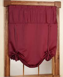 Tie Up Curtains Blackstone Energy Saving Tie Up Curtain Brick United Kitchen