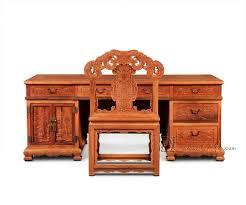 tables de bureau chinois style classique meubles de bureau en bois de tables ensemble