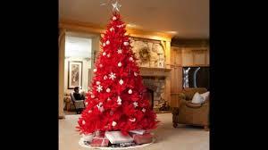 Simple Christmas Tree Decorating Ideas Beautiful Red Christmas Tree Decoration Ideas Christmas Celebrations