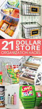 Kitchen Cabinets Organization Ideas by 25 Best Dollar Store Organization Ideas On Pinterest Kitchen