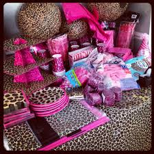 cheetah baby shower hot pink and leopard print baby shower i want to where to