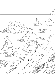 antarctica coloring pages coloring page antarctica kids drawing