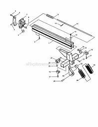 sears 10 table saw parts craftsman 315228110 parts list and diagram ereplacementparts com